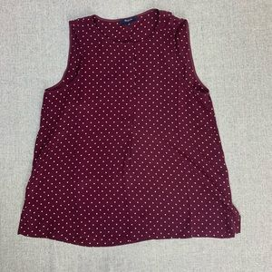 Madewell Medium dark red sleeveless top